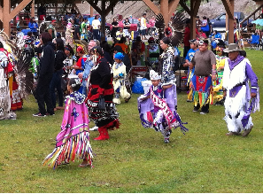 Pow wow first nations community in Ontario