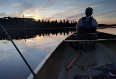 Fishing in Woodland Caribou Provincial Park